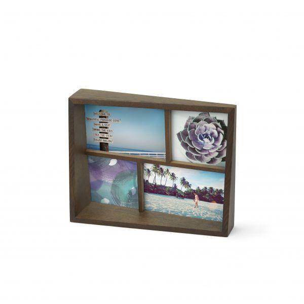 1005020 746 umbra  edge multi photo display aged walnut 01 1 Марка: Umbra HK Limited <br />Модел: UMBRA 1005020-746<br />Доставка: 2-4 работни дни<br />Гаранция: 2 години