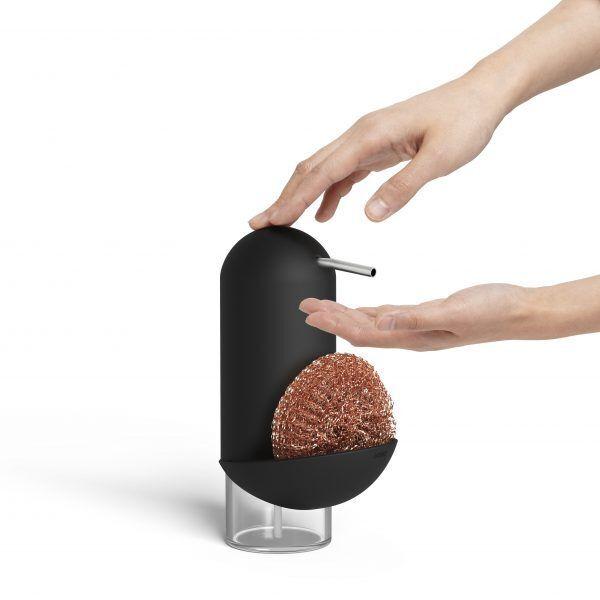 1008156 040 penguin caddy soap pump black 04 Марка: Umbra HK Limited <br />Модел: UMBRA 1008156-040<br />Доставка: 2-4 работни дни<br />Гаранция: 2 години