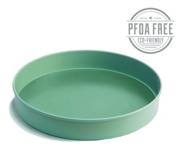 1040 9inch sandwich tin loose base angled blue inner scaled