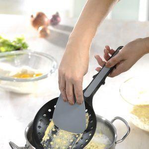 GEFU Решетъчна лъжица с шпатула за приготвяне пшпецле и паста