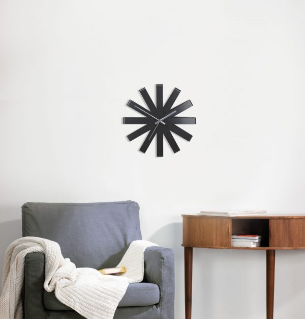118070 040 ribbon wall clock inst Марка: Umbra HK Limited <br />Модел: UMBRA 118070-040<br />Доставка: 2-4 работни дни<br />Гаранция: 2 години