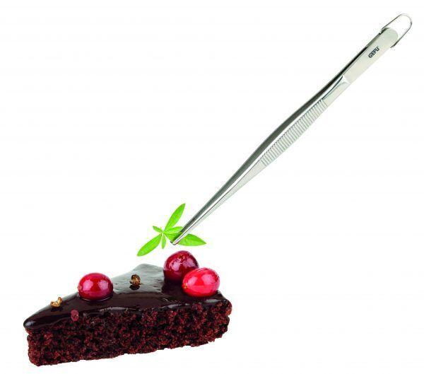 11930 kitchen tweezers preciso in use Марка: GEFU - GERMANY <br />Модел: GEFU 11930<br />Доставка: 2-4 работни дни<br />Гаранция: 2 години