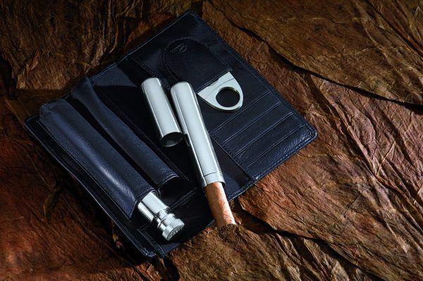 PHILIPPI  Комплект за пури и коняк CHURCHILL