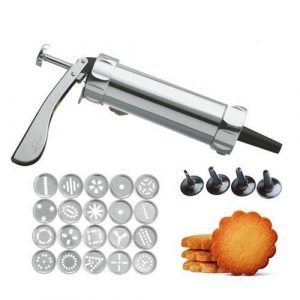 GEFU Метален сладкарски шприц COOKIE