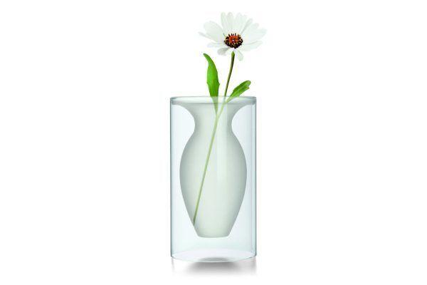 "PHILIPPI  Стъклена ваза ""ESMERALDA"" - M размер"