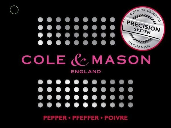 15129 6 Марка: COLE & MASON <br />Модел: Cole & Mason H 37401P<br />Доставка: 2-4 работни дни<br />Гаранция: 2 години