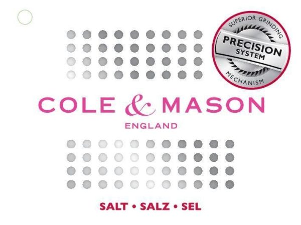 15130 3 2 10 Марка: COLE & MASON <br />Модел: Cole & Mason H 307392P<br />Доставка: 2-4 работни дни<br />Гаранция: 2 години