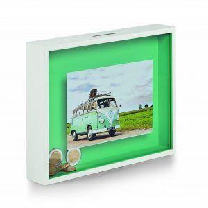PHILIPPI Рамка за снимка със спестовна касичка BANK - зелена