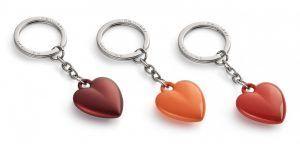 """PHILIPPI Ключодържател сърце """"COEUR"""" - цвят пурпурен"""