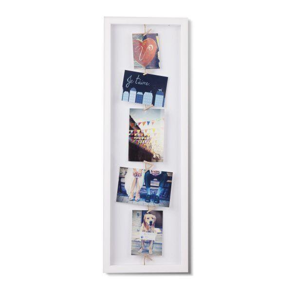 311020 660 clothesline flip photodisplay white 01 Марка: Umbra HK Limited <br />Модел: UMBRA 311020-660<br />Доставка: 2-4 работни дни<br />Гаранция: 2 години