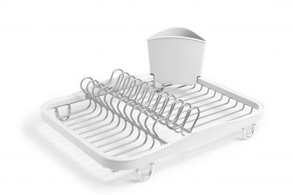 330065 670 sinkin dish rack white nickel 01 1 Марка: Umbra HK Limited <br />Модел: UMBRA 330065-670<br />Доставка: 2-4 работни дни<br />Гаранция: 2 години