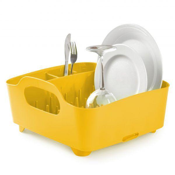 """UMBRA Сушилник """"TUB"""" - цвят жълт"""