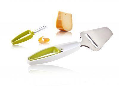 TOMORROW`S KITCHEN Комплект прибор за почистване и нож за сирена