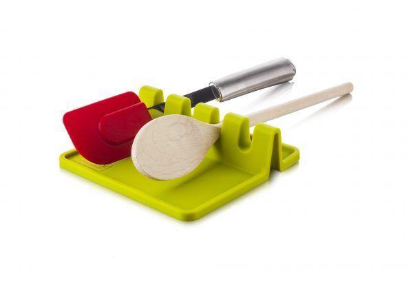 TOMORROW`S KITCHEN Поставка за прибори за готвене - зелена