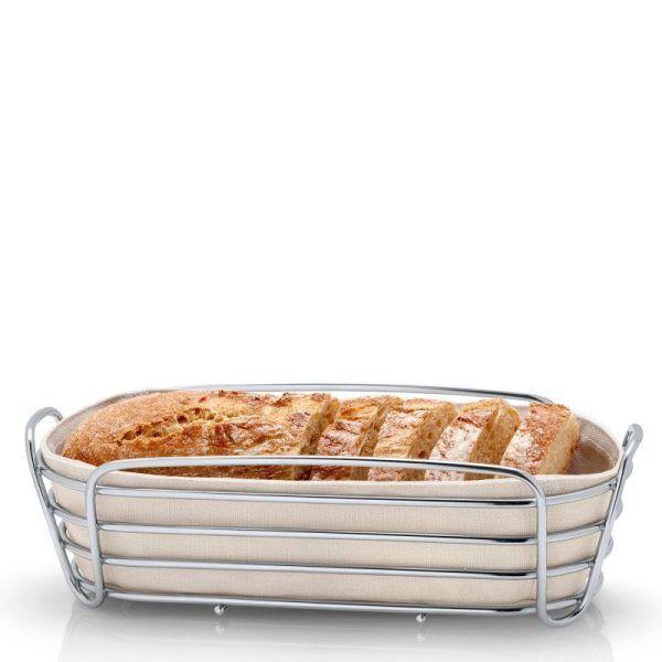 BLOMUS Панер за хляб продълговат DELARA - екрю