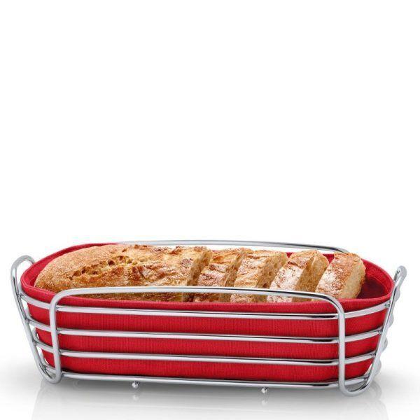 BLOMUS Панер за хляб продълговат DELARA - червен