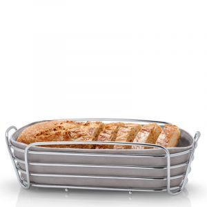 BLOMUS Панер за хляб продълговат DELARA   - сив