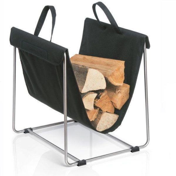 BLOMUS Поставка за дърва  MADRA - черна