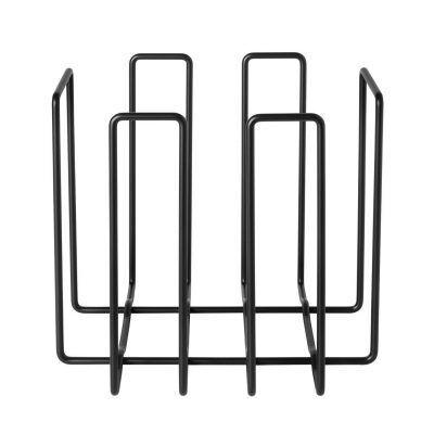 BLOMUS Стойка / поставка за вестници и списания WIRES - цвят черен