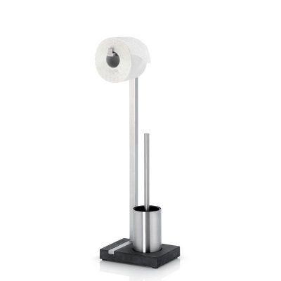 BLOMUS Стойка за тоалетна хартия + четка за тоалетна MENOTO - мат