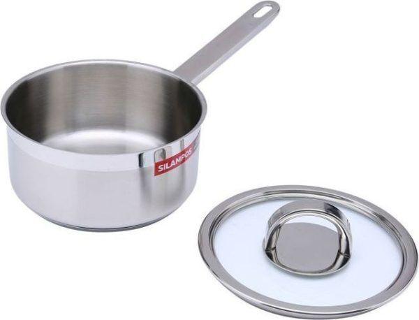 atlantico sauce pan silver 16 centimeter 15466796 cc3a7e8cf4a1e80c55b350edef8cb038 Марка: SILAMPOS <br />Модел: Atlantico 632125 - V51120A - 100<br />Доставка: 2-4 работни дни<br />Гаранция: 2 години