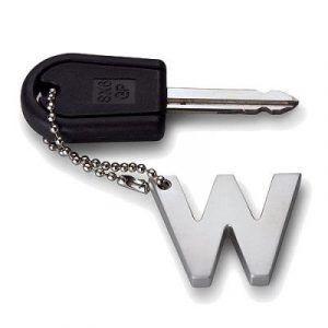 """PHILIPPI Ключодържател буква """"W"""""""