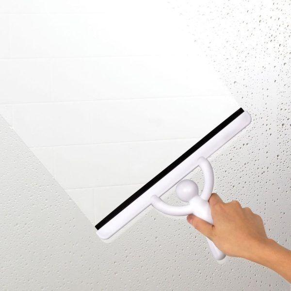 """UMBRA Прибор за чистене на стъкла """"BUDDY"""" - бял"""