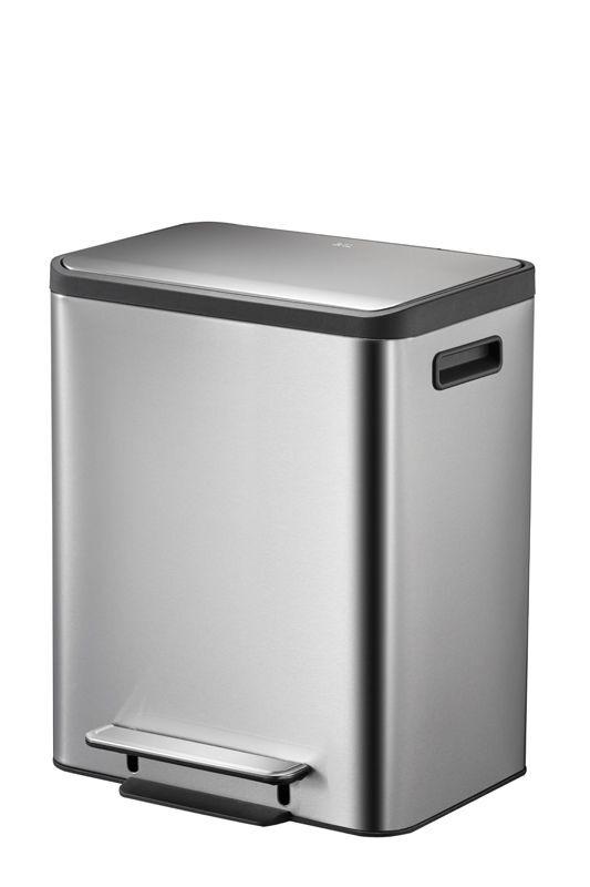 """EKO Кош за отпадъци с педал """"ECOCASA""""  - 30 литра - мат"""