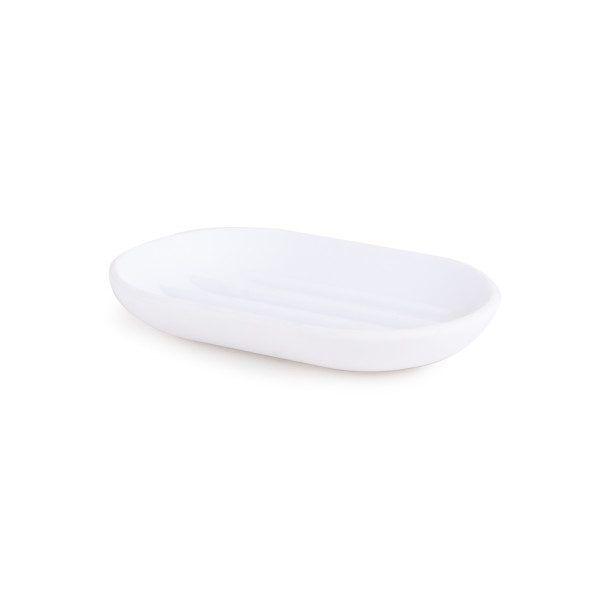 """UMBRA Поставка за сапун """"TOUCH"""" - цвят бял"""