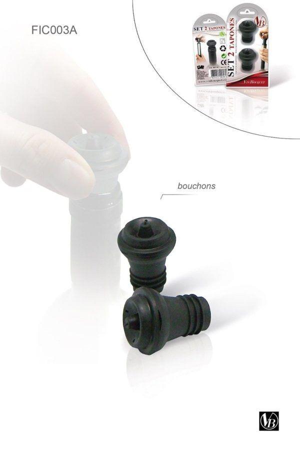 Vin Bouquet Резервни тапи за ръчна вакуум помпа
