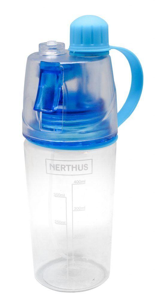 Nerthus Бутилка за вода със спрей - 400 мл.