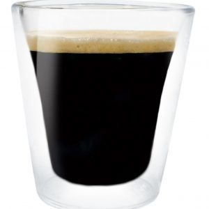 Nerthus Комплект от  2 бр. двустенни стъклени чаши -  100 мл.