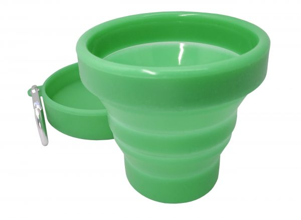 Nerthus Сгъваема силиконова чаша - 150 мл.
