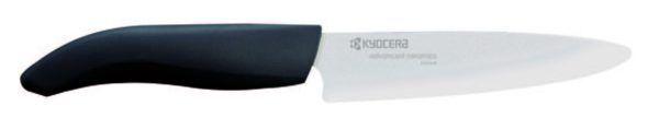 KYOCERA Универсален керамичен нож - бяло острие/черна дръжка - 13 см.