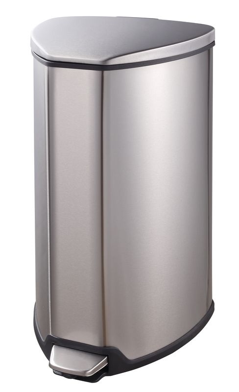 """EKO Кош за отпадъци с педал """"GRACE"""" - 15 литра - мат"""