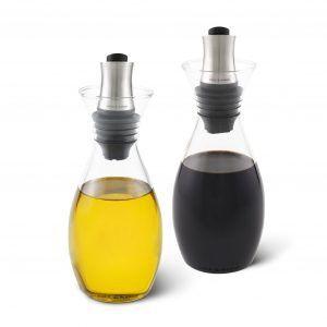 COLE & MASON Комплект за олио и оцет с регулируем дозатор
