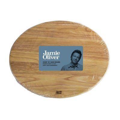 JAMIE OLIVER Овална дървена дъска за рязане и сервиране