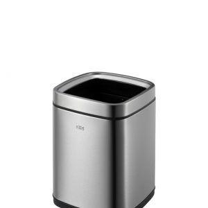 """EKO Квадратен отворен кош за отпадъци """"LAGUNA"""" - 9 литра - мат"""