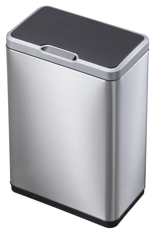 """EKO Сензорен кош за разделно събиране на отпадъци """"MIRAGE"""" - 2 х 20 литра - мат"""