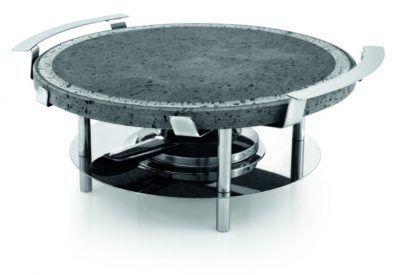 SILAMPOS Каменен грил за печене - кръгъл