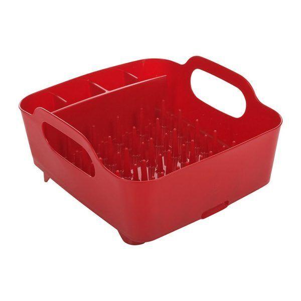 tub dish rack red 515444 Марка: Umbra HK Limited <br />Модел: UMBRA 330590-505<br />Доставка: 2-4 работни дни<br />Гаранция: 2 години