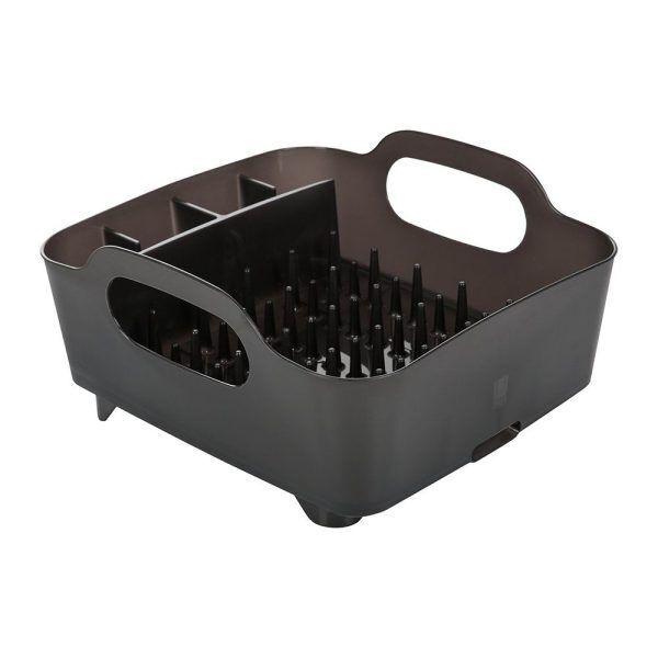 tub dish rack smoke 436402 1 Марка: Umbra HK Limited <br />Модел: UMBRA 330590-582<br />Доставка: 2-4 работни дни<br />Гаранция: 2 години