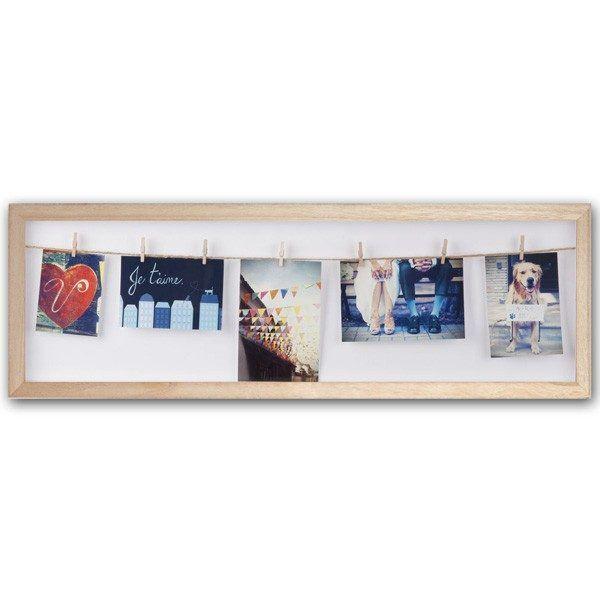 umbra clothesline flip photo display natural 2.1524000599