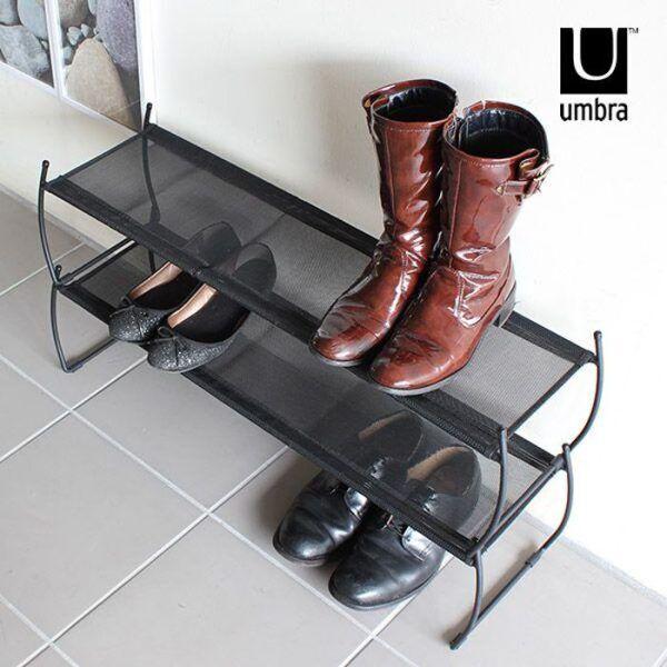umbra imelda shoe rack 03 Марка: Umbra HK Limited <br />Модел: UMBRA 318125-040<br />Доставка: 2-4 работни дни<br />Гаранция: 2 години