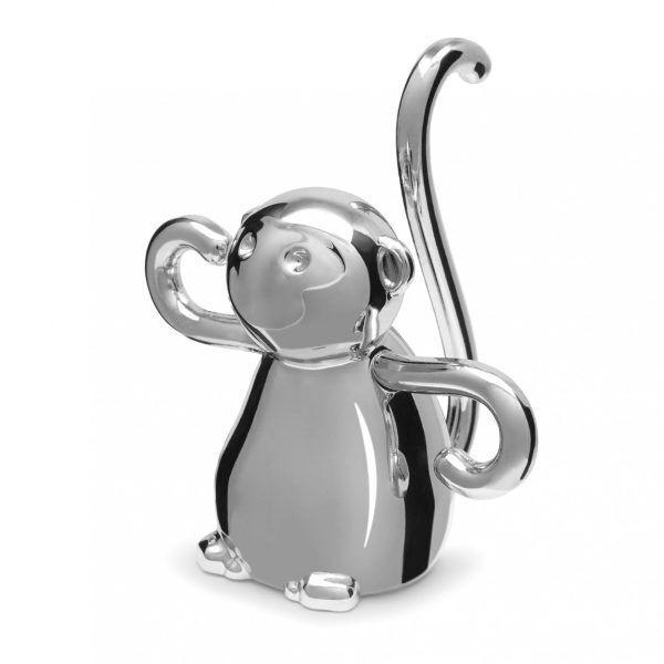 umbra zoola monkey ring holder chrome 299256 158