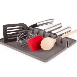 TOMORROW`S KITCHEN Поставка за прибори за готвене XL - сива