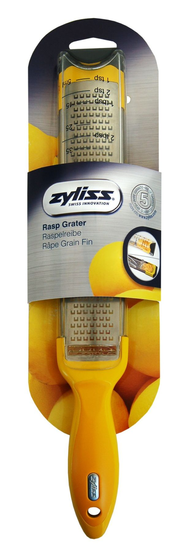 ZYLISS  Ренде с контейнер - жълто