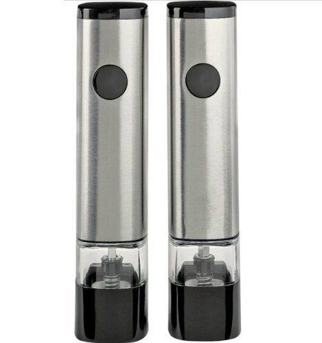"""COLE&MASON Комплект електрически мелнички за сол и пипер """"ZELIOS"""""""