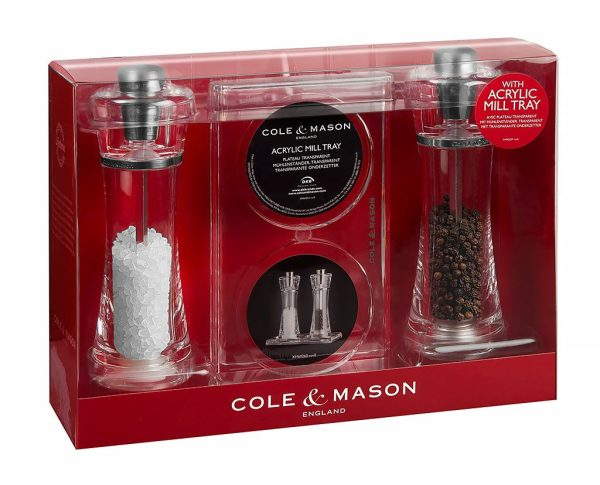 colemason cole mason roma pepper salt mill acryl hb 140121