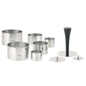 GEFU Комплект  пръстени за десерти и салати FORMIDABLE  -10 части